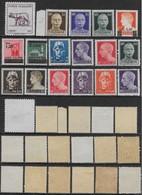 Italia Italy 1944 Luogotenenza 17val Sa N.515A,516-518,523-525,527-530,532,536-540 Nuovo MNH/MH **/* - 1944-46 Lieutenance & Humbert II