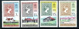 Falkland Islands 1978 Postage Stamp Centenary Set Of 4, MNH - Falkland Islands