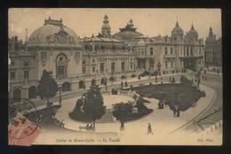 *Casino De Monte-Carlo. La Façade* Ed. ND. Circulada 1906. - Casino