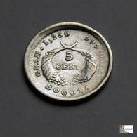 Colombia - 5 Centavos - 1882 - Colombie