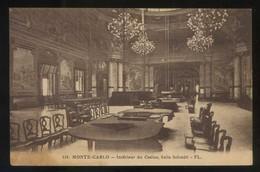 *Monte-Carlo. Intérieur Du Casino, Salle Schmitt* Ed. FL. Nº 116. Nueva. - Casino