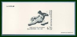 GRAVURE N° 2927 Prud'hon 1995 Sculpture Le Rêve Du Bonheur - Documents De La Poste