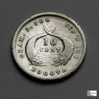 Colombia - 10 Centavos - 1879 - Colombie