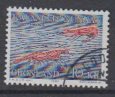 Greenland 1982 Shrimp 1v Used (41070I) - Greenland