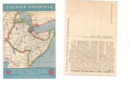M7399 LOTTA TUBERCOLOSI COLONIE AFRICA ORIENALE NON VIAGGIATA - Salute
