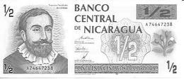 Nicaragua  P-172    0.50 Cordoba  1992  UNC - Nicaragua