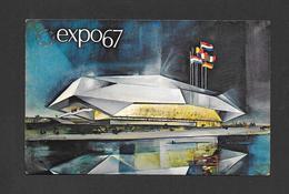 EXPO67 - EXPO 67 - MONTRÉAL CANADA - LE PAVILLON DE LA COMMUNAUTÉ EUROPÉENNE - EUROPEAN COMMUNITY PAVILION - Expositions