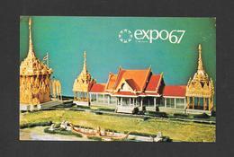 EXPO67 - EXPO 67 - MONTRÉAL CANADA - LE PAVILLON DE LA THAILANDE - THAILAND PAVILION - Expositions