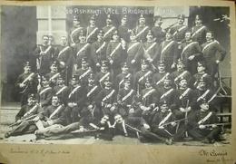 Carabinieri - Foto Di Gruppo 1° Corso Aspiranti Vice Brigadieri 1905 - Guerra, Militari
