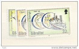 1988 MNH Gibraltar,  Postfris - Gibilterra