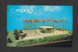 EXPO67 - EXPO 67 - MONTRÉAL CANADA - PAVILLON CONSACRÉ AUX NATIONS UNIES - THE PAVILION ON THE UNITED NATIONS - Expositions