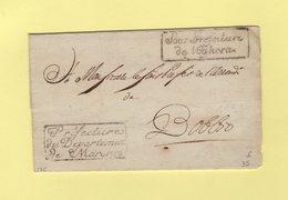 Prefecture Du Departement De Marengo - Sous Prefecture De Voghera - Departement Conquis De Marengo - Sans Correspondance - 1. ...-1850 Vorphilatelie