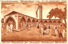 Winterthur - Ausstellung 1924 Brauerei Haldengut - ZH Zürich
