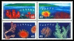 Canada (Scott No.1948-51 - Coraux / Corals) [**] - 1952-.... Règne D'Elizabeth II