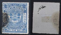 BORNEO GB 1894 ? 25 $ - Bornéo Du Nord (...-1963)