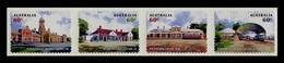 Australia 2013 Mih. 4031/34 Railway Stations (self-adhesive) MNH ** - 2010-... Elizabeth II