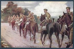En Guerre - Hussards Anglais Allant Au Front - Guerre 1914-18