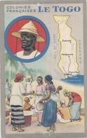 AFRIQUE - Colonies Françaises - Le Togo - Carte Et Principales Villes - Togo