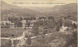 ~  JP  ~  88  ~ RUPT  SUR  MOSELLE ~     MAXONCHAMP  ~  La Gare   ~  La Moselle Et La Roue Nationale - France