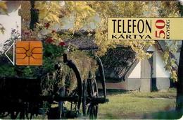 TARJETA TELEFONICA DE HUNGRIA. CART - CARRO. HU-P-1993-11a. (157) - Hungría