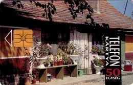 TARJETA TELEFONICA DE HUNGRIA. YARD. HU-P-1993-12Ab. (161) - Hungría