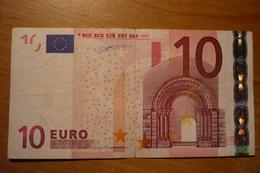 10 EURO 2002 Spain G002 B3 Duisenberg V00014250973 G002B3 - 10 Euro