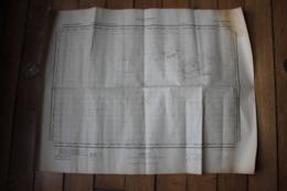 Carte Allemande WWII Les Pieux  1/50000 Datée De 1943 Ile D'Aurigny  Alderney - 1939-45