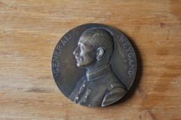 Medaille   Marechal Foch  Rethondes  Signatures De L'armistice  8 11 Novembre 1918 - 1914-18