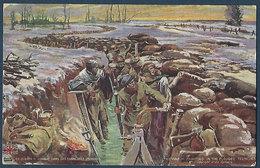 LVC Z.1 - En Guerre - Combat Dans Les Tranchées Inondées - Guerre 1914-18