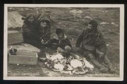 *Lappefamilie* Eneret : Atelier K. K.. Circulada Svartisen 1934 - Noruega