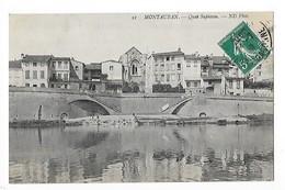 MONTAUBAN  (cpa 82)   Quai Sapiacou  -   L  1 - Montauban