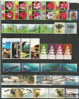 Année Complète 2004, 39 Timbres + 5 B-F + 1 Carnet Neufs **  Côte  155,00 Euro. Trois Photos - Ile Norfolk