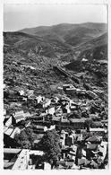 (RECTO / VERSO) SAINT PONS EN 1963 - N° 4 - VUE AERIENNE - Ed. LAPIE AERIEN - FORMAT CPA VOYAGEE - Saint-Pons-de-Mauchiens