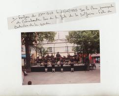 Photo - Chasseurs - 27°BCA - Fanfare Du 25/06/1999 Sur La Place De Barcelonnette - Fête Du Bataillon De La Garde - 1914-18