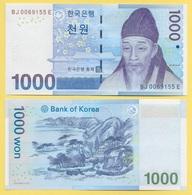 South Korea 1000 Won P-54 2007 UNC - Corée Du Sud