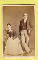 Victorian CDV - Husband And Wife - William Ball - Peterborough - Photographs