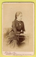 Victorian CDV - Lady  - J. Weston & Son - Folkestone - Old (before 1900)