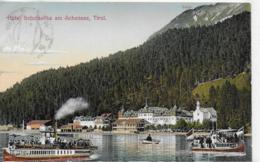 AK 0065  Hotel Scholastika Am Achensee Mit Dampfer - Verlag Harth Um 1913 - Achenseeorte