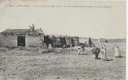 AK 0065  Bou-Anan - Construction D' Un Café Maure Ca. Um 1910 - Marokko