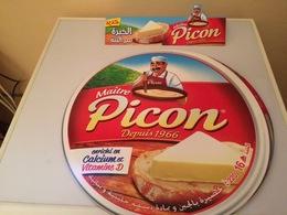 """FROMAGE PICON-CARTON PUBLICITAIRE """"  PICON"""" - Posters"""