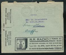 LAC Des CCP Avec Pubs: R.R. Radio - TSF   -  Les Cigares Pugnator - Graisseurs - Peignes   Obl. 27/12/1935 - Zonder Portkosten