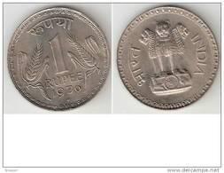 *india 1 Rupee 1976 B Km 78.1 Xf+ !!!! - Inde