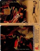 TARJETA TELEFONICA DE HUNGRIA. Csontváry: Hajótörés, NAUFRAGIO. HU-P-1997-03. (173) - Hungría