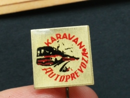 Z 213 -  AUTOPREVOZ KARAVAN, YUGOSLAVIA PIN,TRANSPORT - Trasporti