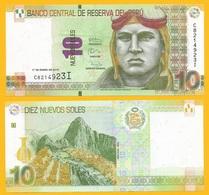 Peru 10 Nuevos Soles P-187 2013 UNC - Pérou