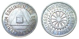 01940 GETTONE TOKEN JETON FICHA FRIEDRICH EBERT SCHULE ESSLINGEN ALU - Germany