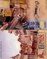 TARJETA TELEFONICA DE HUNGRIA. Csontváry: Athéni Utca, CALLE DE ATENAS. CHIP NEGRO. HU-P-1996-05A. (174) - Hungría