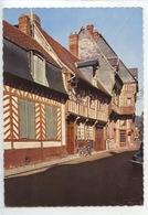 Bernay : Rue Auguste Leprévost - Velosolex Solex (n°388/56 Combier) - Bernay