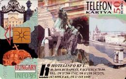 TARJETA TELEFONICA DE HUNGRIA. HOTELINFO. HU-S-1995-01Bb. (226) - Hungría