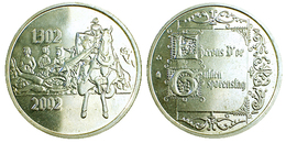 01496 GETTONE TOKEN JETON BELGIUM FICHA COMMEMORATIVE EPERONS D'OR 2002 - Unclassified